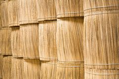 Stacks of wood sticks bundle Royalty Free Stock Image