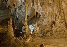 Stactites e stalagmite a Carlsbad Immagine Stock Libera da Diritti