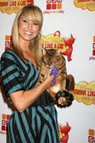 Stacy Keibler. Arriving at the Premiere of Game Show Network's 'Think Like A Cat' Game Show at The Highlands in the Hollywood & Highland Complex in Los Angeles Royalty Free Stock Images