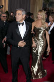 Stacy Keibler, George Clooney Stock Images