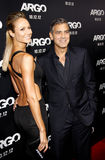 Stacy Keibler and George Clooney Royalty Free Stock Photography