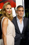 Stacy Keibler and George Clooney Royalty Free Stock Images