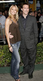 Stacy Keibler and Nick Reed Royalty Free Stock Photos