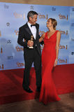 Stacy Kiebler, George Clooney Royalty Free Stock Images