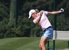 Stacy Lewis på golf Evian styrer 2012 royaltyfri bild