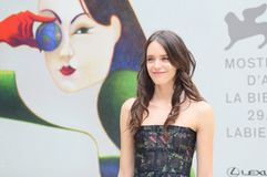 Stacy Martin attends the `Amanda` stock images