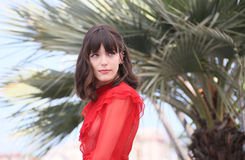 Stacy Martin attends the `Redoubtable Le Redoutable` Stock Images