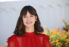 Stacy Martin attends the `Redoubtable Le Redoutable` Stock Photo