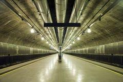 stacyjny metro Zdjęcie Royalty Free