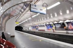 stacyjny metro Zdjęcia Royalty Free