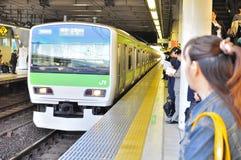 stacyjny pociąg Obraz Stock