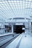 stacyjny pociąg Obrazy Royalty Free