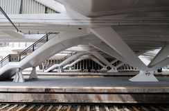 stacyjny pociąg zdjęcie stock