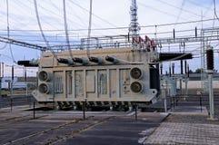 stacyjny transformator Obrazy Stock