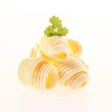 Staczać się zwitki śmietankowy masło obrazy stock