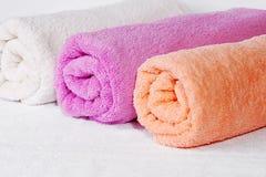 stacza się ręcznika Obraz Stock