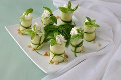 stacza się zucchini zdjęcia royalty free