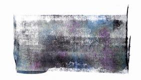 Staczająca się Akrylowa farba Odizolowywająca na Białym tle obraz stock