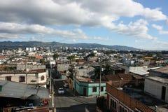 Stad 01 van Guatemala Royalty-vrije Stock Foto's