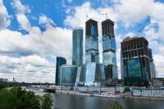 Stad 1 van Moskou Stock Foto's