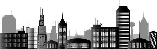 Stad vector illustratie
