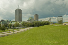 Stad 14 van Quebec Royalty-vrije Stock Foto