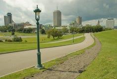 Stad 15 van Quebec Stock Foto