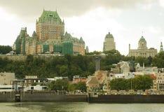 Stad 16 van Quebec stock afbeelding