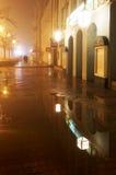 Stad 2 van de nacht Stock Foto
