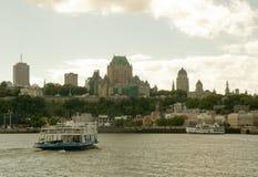 Stad 21 van Quebec Stock Foto's