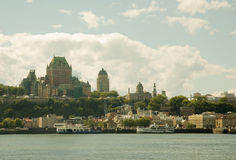 Stad 24 van Quebec Stock Afbeelding