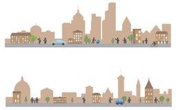 Stad stock illustratie