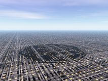 Stad Arkivbild