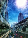 Stad Royaltyfria Bilder