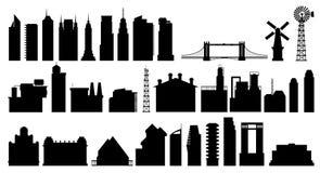 Stad 5 vector illustratie