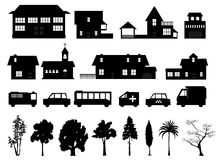 Stad 6 royalty-vrije illustratie