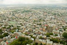 Stad 9 van Quebec Stock Fotografie
