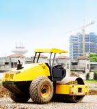 Stad in aanbouw Stock Foto's