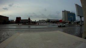 Stad Aktau Kasakhstan lager videofilmer