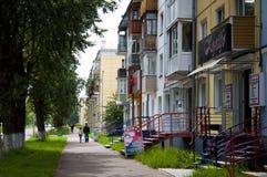 stad Angarsk sommar 2012 - 60 Arkivbilder