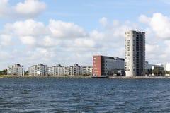 Stad av Aalborg i Danmark Royaltyfri Fotografi
