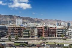 Stad av Antofagasta Arkivbild