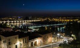Stad av Badajoz Fotografering för Bildbyråer