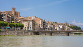 Stad av Balaguer Royaltyfri Bild