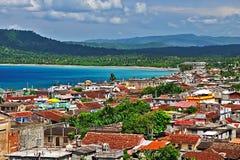 Stad av Baracoa, Kuba Royaltyfria Bilder