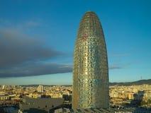 Stad av Barcelona Arkivfoton
