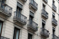 Stad av Barcelona, Spanien Arkivbild