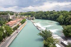 Stad av Bern Fotografering för Bildbyråer