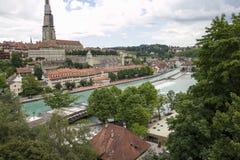 Stad av Bern Royaltyfri Fotografi