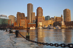 Stad av Boston. royaltyfri fotografi